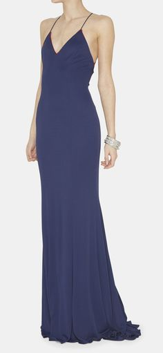 Ralph Lauren Navy Dress | VAUNTE
