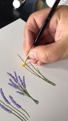 Art Painting Gallery, Diy Painting, Easy Flower Painting, Flower Art Drawing, Acrylic Painting Tutorials, Beginner Painting, Painting Videos, Art Drawings Beautiful, Art Drawings Sketches Simple