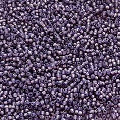 Milky Lavender Silver Lined Round Toho Seed Beads - Beading Supply Handmade Jewelry Findings, Beaded Jewelry, Jewellery, Beading Supplies, Beading Tutorials, Jewelry Crafts, Seed Beads, Seeds, Lavender