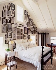 beautiful picture wall