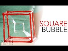 Square Bubble - Sick Science! #153 Free to join....love this site for easy challenges that are fun and think! Science Tricks, Easy Science Experiments, Weird Science, Science For Kids, Science Projects, Science And Nature, Science Videos, Back To School Activities, Middle School Science