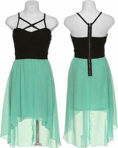 15DOLLARSTORE.COM - TRIXXI Corset Hi-Low Racerback Dress