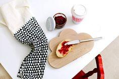 Cloud Bread Board from Snug Studio — Faith's Daily Find Big Design, Deco Design, Kitchen Items, Kitchen Dining, Snug Studio, Wooden Bread Board, Kitchenware, Tableware, Cloud Shapes