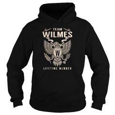 Cool WILMES Last Name, Surname Tshirt T shirts