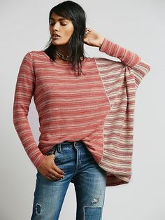 Free People Olivia's Long Sleeve Tee at Free People Clothing Boutique in oatmeal/clay
