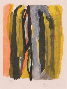 Bram Van Velde 1976 Bram Van Velde, Printmaking, Paintings, Contemporary, Prints, Color, Art, Kunst, Art Background