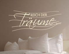 Wandtattoo Sprüche - Wandsprüche No.UL573 Reich der Träume Jetzt bestellen unter: https://moebel.ladendirekt.de/dekoration/wandtattoos/wandtattoos/?uid=6d24f775-52c7-5b8e-adca-5454559c6c83&utm_source=pinterest&utm_medium=pin&utm_campaign=boards #heim #tattoos #dekoration