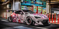Tuner Cars, Jdm Cars, Vinyl Wrap Car, Subaru Cars, Drifting Cars, Car Illustration, Modified Cars, Car Painting, Car Wrap