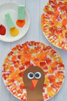 66 Fall Crafts For Kids - Fall Activities and Project Ideas For Kids Crafts For 2 Year Olds, Easy Toddler Crafts 2 Year Olds, Thanksgiving Crafts For Kids, Thanksgiving Turkey, Fall Kid Crafts, Thanksgiving Crafts For Preschool, Fall Crafts For Preschoolers, Arts & Crafts, Fall Art Preschool