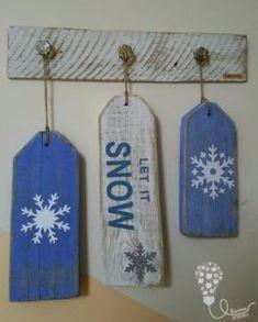 let it snow / winter / zima / drzewo / diy Let It Snow, Let It Be, Pot Holders, Winter, Diy, Winter Time, Hot Pads, Bricolage, Potholders