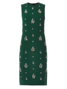 Brenton embellished crepe dress | Erdem | MATCHESFASHION.COM