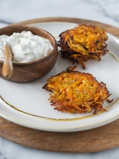 Sweet Potato, Parsnip, and Turnip Latkes | Wayfair