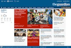 Flexbox in use on The Guardian's site