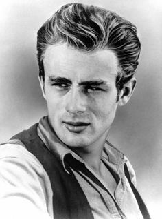 James Dean, Mens Hairstyles In The 1950s