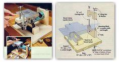 Biscuit Joiner Table - Biscuit Joiner Tips, Jigs and Fixtures | WoodArchivist.com