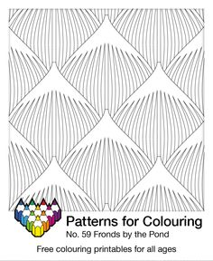 Take your colours for a dip... Free pattern number 59 of 230, with new patterns added often
