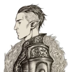 Солас,DA персонажи,Dragon Age,фэндомы,Nipuni,DAI