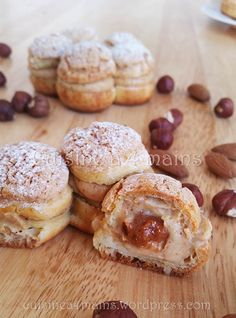 The November Daring Baker's challenge took us for a ride! Luisa from Rise of the Sourdough Preacher challenged us to make Paris-Brest, a beautiful pastry celebrating the Paris-Brest bicycle …