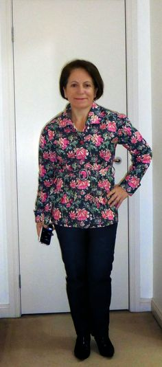 Vogue 8732 Claire Shaeffer jacket and Vogue 8774 jeans. Fabric from Minerva Crafts Uk.