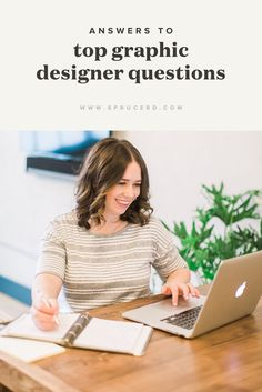Top graphic design questions answered — Spruce Rd. | How to work with clients, how to select fonts for logos, how to run a design studio, etc. Email Marketing Companies, Marketing Software, Top Graphic Designers, Graphic Design Posters, Corporate Values, Corporate Design, Brochure Design, Branding Design, Identity Branding
