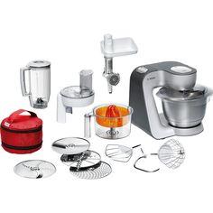 Küchenmaschine Bosch Styline MUM56S40, silber
