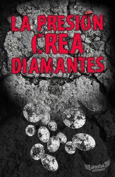 """""""La presión crea diamantes"""" by SinfulAttitude on Etsy."""
