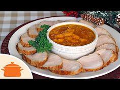 Receita deliciosa, fácil e prática para você fazer nas festas de fim de ano ou em qualquer ocasião especial. Ingredientes: - 1 peça de lombo temperada na vés...