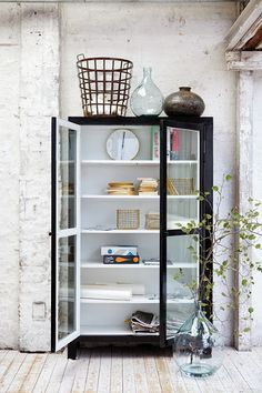 Cupboard that is like a danish summerhouse. <3 it! | House Doctor