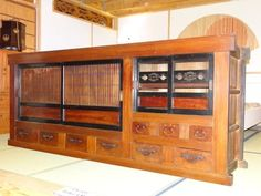 Wonderful Large Mizuya Dansu Kitchen Tansu Chest | eBay