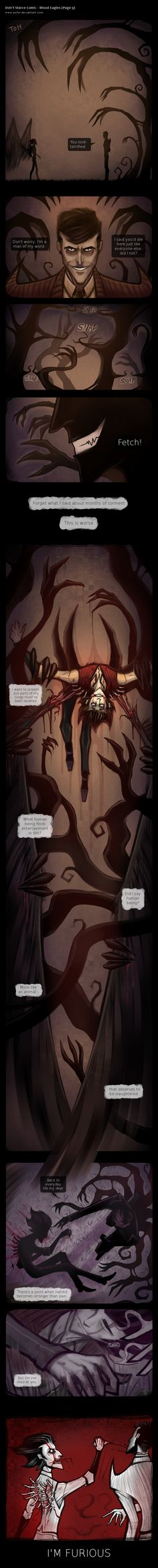 Don't Starve Comic - Blood Eagles (Page 9) by Ecfor on DeviantArt