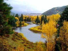 Conejos River Valley, Colorado