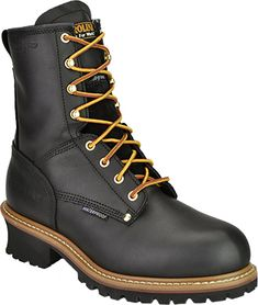 #5823 Carolina classic logger work boot.