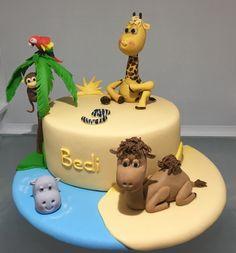 ZOO Animal Cake, detsky dort se zviratky