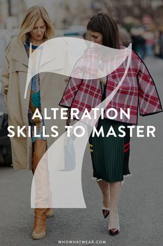From WHOWHATWEAR.COM: 7 alteration skills to master through YouTube Tutorials #DIY #adelinecrafts #getcreative