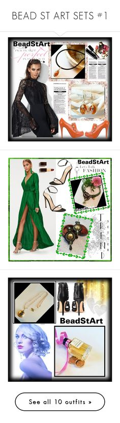 """""""BEAD ST ART SETS #1"""" by nizaba-haskic ❤ liked on Polyvore featuring WALL, Christian Louboutin, Chanel, modern, Gianvito Rossi, Givenchy, Alexandre Birman, LULUS, CC and Livingly"""
