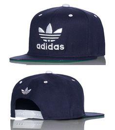 adidas MENS TRASHER SNAPBACK CAP Navy