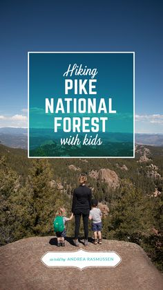 Hiking Pike National Forest with Kids. Read about the Rasmussen's experience in the latest edition of Trails Mix. // #FamilyTrails