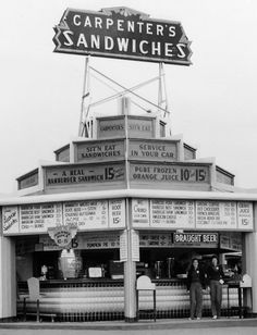 Carpenter's Sandwiches (1926) Los Angeles, California