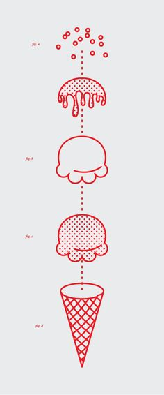 Food infographic Mkn design Michael Nÿkamp in Illustration. Infographic Description Mkn design Michael Nÿkamp in Illustration - Infographic Source Illustration Design Graphique, Art Graphique, Graphic Illustration, Ice Cream Illustration, Creative Illustration, Technical Illustration, Graphisches Design, Icon Design, Logo Design