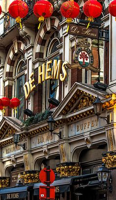 De Helms (Dutch Pub) China Town, London