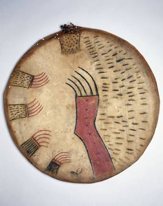 Shield Cover. History of Plains NA Life. The Smithsonian Anthropology Collection