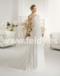 Vestido de novia Felina de Atelier Diagonal 2013