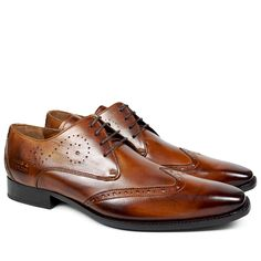 3699127e2e300d Derby Schuhe Oskar 7 Crust Tan LS Melvin   Hamilton