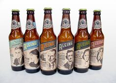 Planning a literary-themed picnic? Bring along Aleing Authors, an assortment of craft beers inspired by influential authors of the 19th and 20th centuries
