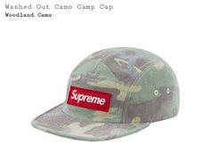 c3c0e7e9a7028 SUPREME Washed Out Camo Camp Cap Woodland  fashion  clothing  shoes   accessories