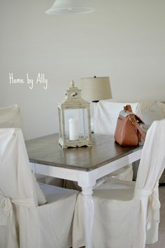 Kitchen Table Redo | Home by Ally