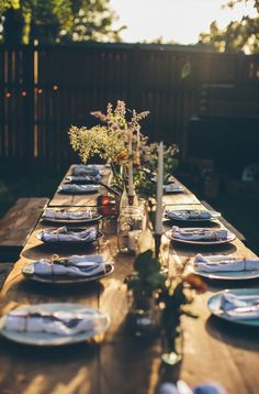 A Simple Evening  - Nashville  |  The Fresh Exchange family dinners, dinner parties, garden parties, backyard, outdoor dinner party