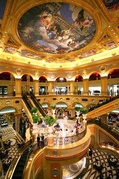 The Venetian Hotel, Macau - Calibra Travel - Hotels And Resorts, Best Hotels, Luxury Hotels, Luxury Yachts, Beautiful Hotels, Beautiful Places, Macau Travel, Travel Europe, Usa Travel