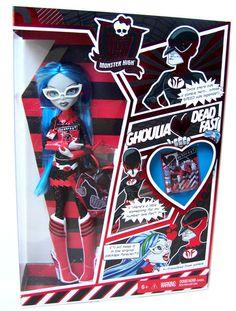 ''Dead Fast'' Ghoulia Yelps Эксклюзивная кукла для Комик Кона в Сан Диего 2011