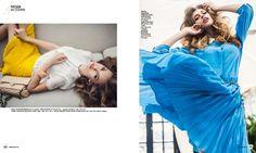 """Fashion"" by Alena Nikiforova, via Behance"